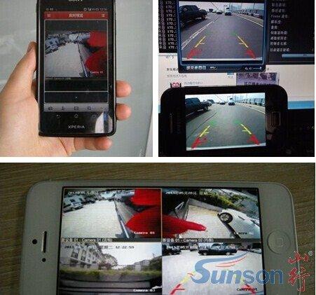 汽车360度全景行车记录仪的安装方法