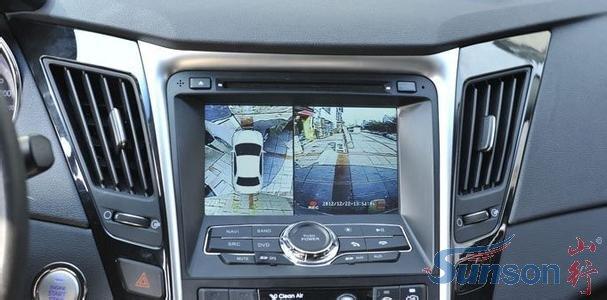 360度全景监控系统成为汽车实用的新装备