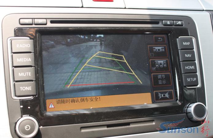 如何使用倒车影像系统