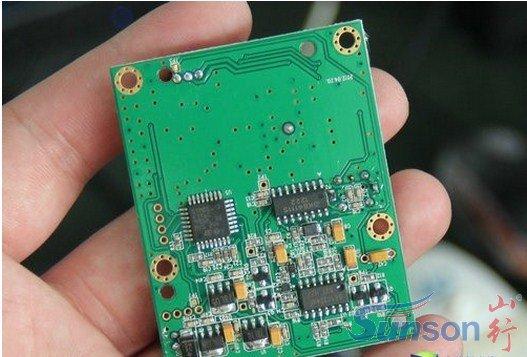 电子狗雷达电路板
